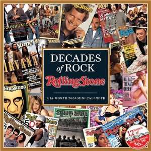 ROLLING STONE   Decades of Rock   2009 Wall Calendar