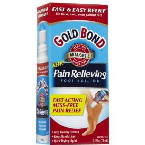 GOLD BOND PAIN RL FOOT ROLL ON