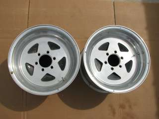 MONOCOQUE 15x10 WHEELS DRAG RACING TRUCK CHEVY FORD DODGE HEMI 426 427