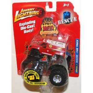 Johnny Lightning, Monsters of Destruction, Rescue Fire