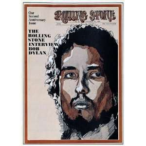 Bob Dylan (illustration), 1969 Rolling Stone Cover Poster