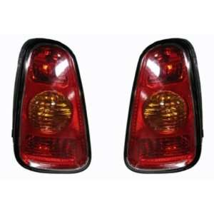 OE Replacement Mini Cooper Driver Side Taillight Assembly
