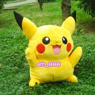 16 40cm Large ★ Pokemon Pikachu Plush Doll Soft Stuffed Toy
