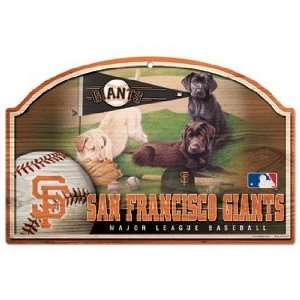 MLB San Francisco Giants Sign   Wood Style  Sports