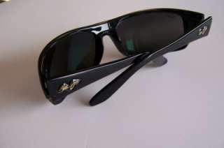 Brand New In Box Maui Jim 202 02 PEAHI Sunglasses BLACK