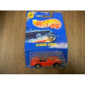 Hot Wheels Classic Cobra Diecast Car