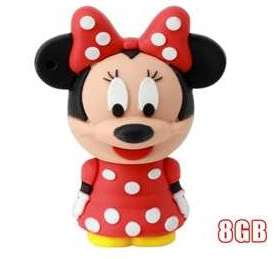 GB Minnie Mouse Collectors USB Flash Drive Stick Memory