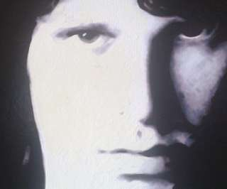The Doors JIM MORRISON   ORIGINAL one OFF hand painting