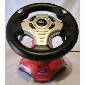 Ford Racing Steering Wheel, Plug & Play Toys & Games