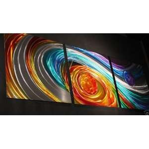 Metal Modern Art Abstract Painting Wall Decor