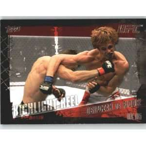 2010 Topps UFC Trading Card # 200 Nick Osipczak vs Matt