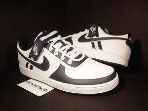 07 Nike Vandal Low White Obsidian Blue Casual Shoes 11