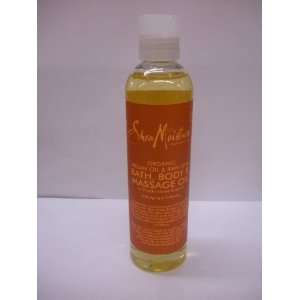 Shea Moisture Organic Argan Oil & Raw Shea Massage Oil(SEALED) Beauty