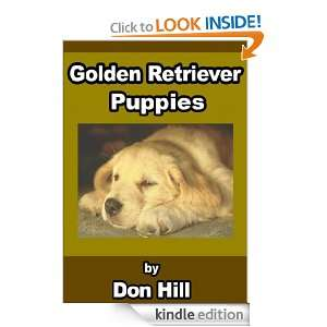 Golden Retriever Puppies Don Hill  Kindle Store