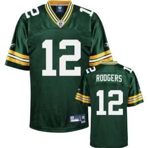 Packers #12 Aaron Rodgers Team Premier Jersey   XL