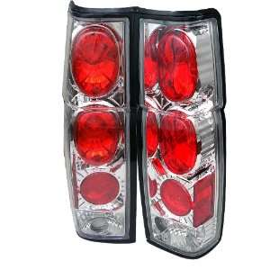 Spyder Auto Nissan Hardbody Chrome Altezza Tail Light