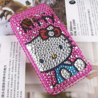 Bling Crystal Hello Kitty case for HTC Incredible 2 #03