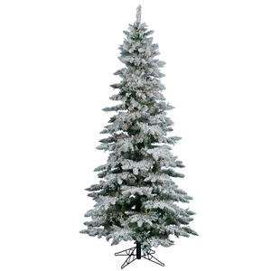 Christmas Tree   Flocked Utica Fir   A895077