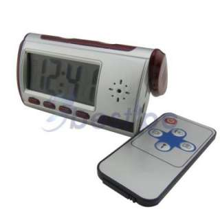 Spy Electronic Digital Alarm Clock Camera Video DVR Recorder Motion