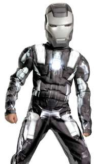 War Machine Kids Deluxe Iron Man 2 Villain Boys Costume 039897117171