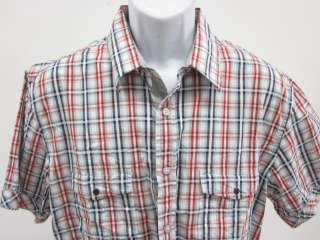ZARA MAN YOUNG DIVISION Mens Plaid Shirt Sz XL