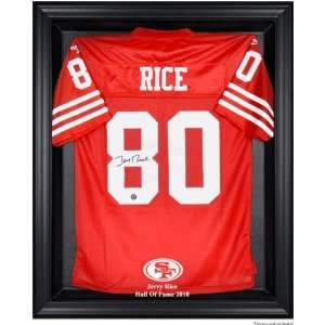 Jerry Rice San Francisco 49ers 2010 Hall of Fame Framed