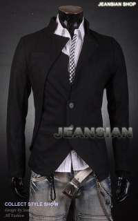 SWM Mens New Designer Slim Fit Blazer Jacket Coat Shirt