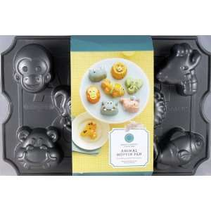 Martha Stewart Collection Animal Muffin Pan Heavy Cast
