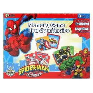 Marvel Spider Man & Friends Memory Game Toys & Games