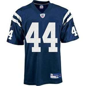 Dallas Clark Indianapolis Colts Replica NFL Adult Team Color Jersey