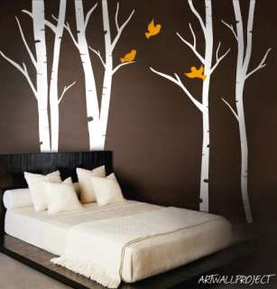Wall Art Vinyl Decal Sticker Terrific Forest Trees