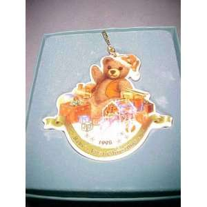 Lenox China 1998 Babys First Christmas Teddy Bear Ornament New