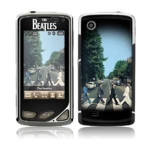 Touch  VX8575  The Beatles  Abbey Road Skin Cell Phones & Accessories
