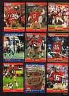 San Francisco 49ers Set JOE MONTANA JERRY RICE STEVE YOUNG RONNIE LOTT