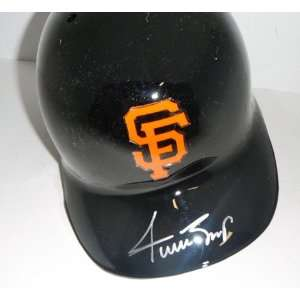 Willie Mays San Francisco Giants Signed Autographed Batting Helmet
