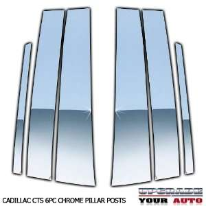2008 2011 Cadillac CTS Chrome Pillar Post Covers