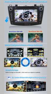 GPS Navigation DVD Player Radio Stereo Unit for Mazda3 2010 2011 2012