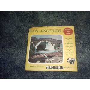 LOS Angeles View Master Reels SAWYERS Books