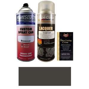 12.5 Oz. Dark Smoke Gray (Bumper) Spray Can Paint Kit for