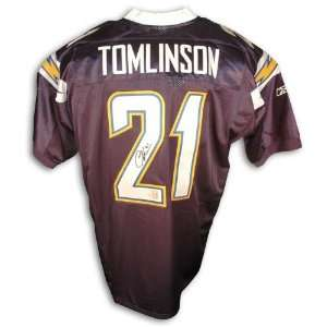 LaDainian Tomlinson San Diego Chargers Navy Blue Reebok Authentic