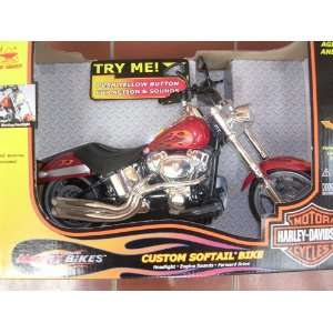 Harley Davidson Motorcycles Battery Operated Mighty Bikes