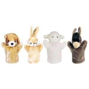 Animal hand puppet Farm Set 2