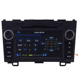 07 10 Honda CRV Car GPS Navigation Radio DVB T TV Bluetooth IPOD