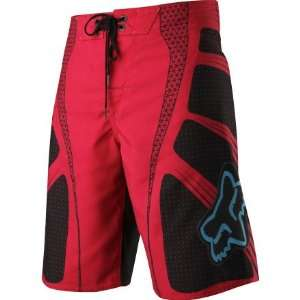 Fox Racing TS Boardshort Red W34 Automotive