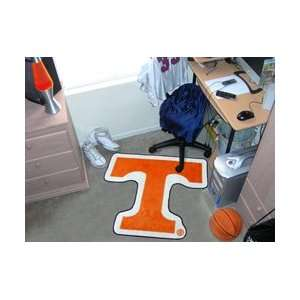Tennessee Volunteers Cut Out Floor Mat