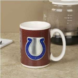 Indianapolis Colts Pewter Logo Football Coffee Mug  Sports
