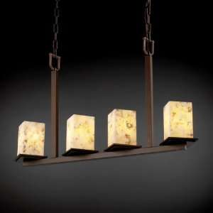 Design ALR 8678 15 DBRZ, Alabaster Rocks Montana Chandelier Lighting