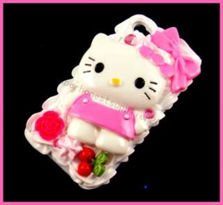 Hello kitty 3D Cake Hard Case for iPhone 4 4G PK BW7