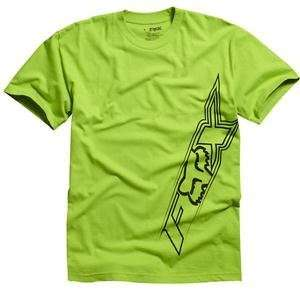 Fox Racing Velocity T Shirt   2X Large/Vivid Green