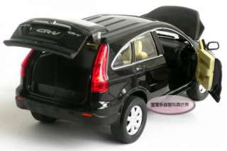 New 132 Honda CRV Alloy Diecast Model Car With Sound&Light Black